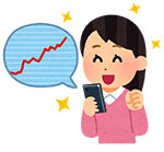 kabu_chart_smartphone_woman_happy